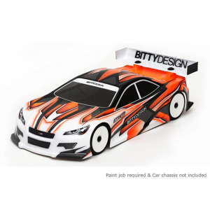 Bittydesign Striker-SR v3.0 190mm 1/10 Touring Car Racing Body