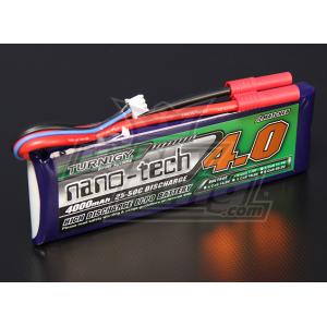 Turnigy nano-tech 4000mah 2S 25~50C Lipo Pack