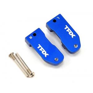 Traxxas L/R Aluminim Caster Blocks 30 Deg (Blue)
