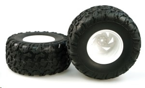 OFF ROAD TRUCK WHEEL COMPLETE (PAIR)