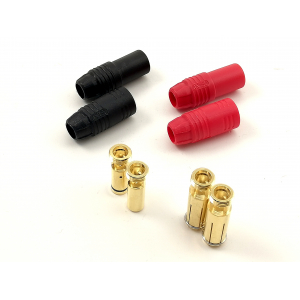 7mm AS150 Anti Spark Self Insulating Gold Bullet Connector 1pora