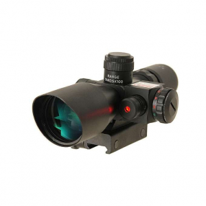SCOPE 2.5-10X40 WITH LASER [PCS]