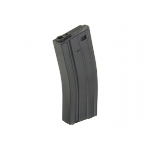 150RD MID-CAP Metalinė dėtuvė airsoft tinka  AK AR-15/M4 - BLACK