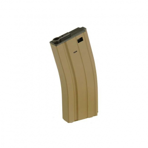 70RD LOW-CAP MAGAZINE FOR M4/M16/HK416 SERIES - DARK EARTH [BATTLEAXE]