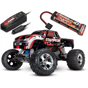 RC modelis TRAXXAS STAMPEDE 2WD BRUSHED RTR TQ