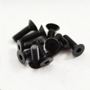 M3x10mm Hex Countersunk Screw (10pcs)