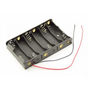 Baterijų laikiklis 6xR6-AA