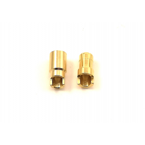 HXT 6mm Sprung Gold Connectors