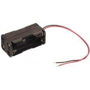 Baterijų 4xR3-AAA laikiklis