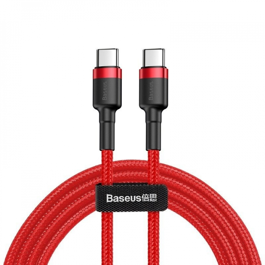 Baseus Cafule PD2.0 60W flash charging USB For Type-C cable (20V 3A) 2m Red