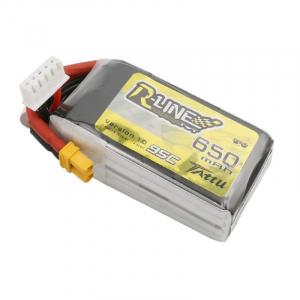 Tattu R-Line 650mAh 14.8V 4S1P 95C Lipo Battery