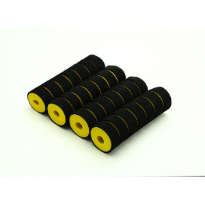 Multi-Rotor Shock Absorbing Foam Skid Collars Yellow/Black (110x32x10mm) (4pcs