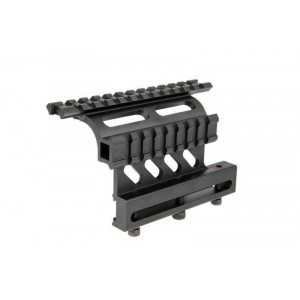 Picatinny mounting rail for AK rifles
