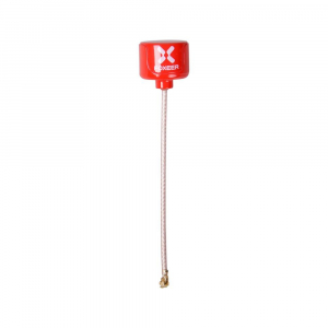 Foxeer Lollipop 5.8G RHCP Super Mini Antenna UFL Red (2vnt.)
