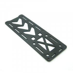 250 Quadcopter Frame Kit Pure Carbon Fiber Parts - Top Board