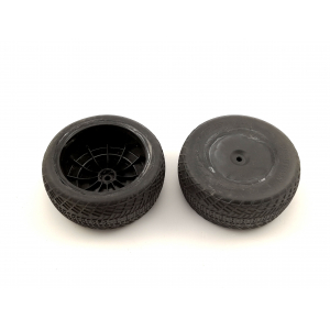 "Sumontuotos Pro-Line Positron SC 2.2/3.0"" Short Course Truck Tires (2 vnt.) su 95% likučiu"