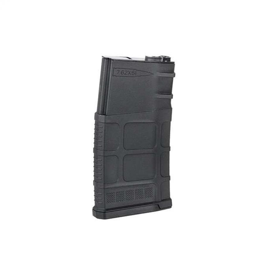 500-ROUND SR25/AR10 RIFLE MAGAZINE - BLACK [BATTLEAXE]