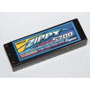 ZIPPY Flightmax 5700mah 2S2P 50C Hardcase Car Lipoly