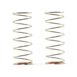 Tekno RC 53mm Rear Shock Spring Set (Orange - 2.82lb/in) (1.2x7.75)