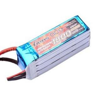 Gens ace 1800mAh 22.2V 45C 6S1P Lipo Battery Pack for Goblin 380