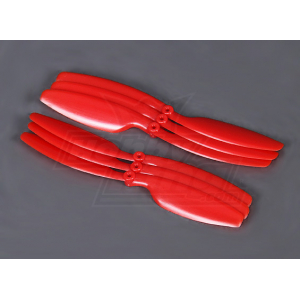 5030 Propellers (Red) - 3xCW and 3xCCW - 6pcs per bag