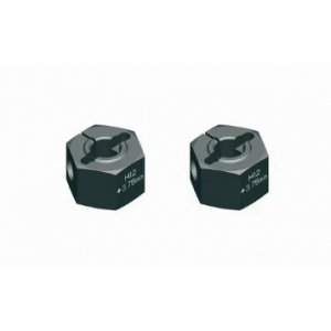 "Alu Wheel Hub 12 mm - Offset ""+ 4.5 mm"" (2)"