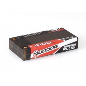 RUDDOG 4100mAh 7.6V 100C Graphene Plus LCG Shorty Stick Pack LiHV akumuliatorius automodeliui