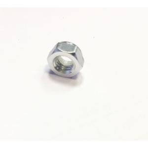 Aluminum Low Profile Nyloc Nut M5 Silver (CCW)