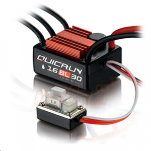 HobbyWing QuicRun 1/16 Brushless WaterProof 30A ESC WP-16BL30