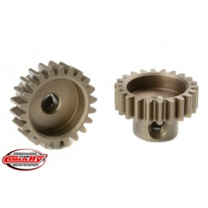 M0.6 Pinion - Short - Hardened Steel - 22 Teeth - Shaft Dia. 3.17mm