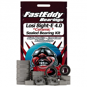 Team Losi 8ight-E 4.0 Ceramic Ruber Sealed Bearing Set
