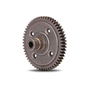 Traxxas 3956X Spur gear , steel , 54-tooth (0.8 metric pitch , compatible with 32-pitch) (requires #6780 center differential)