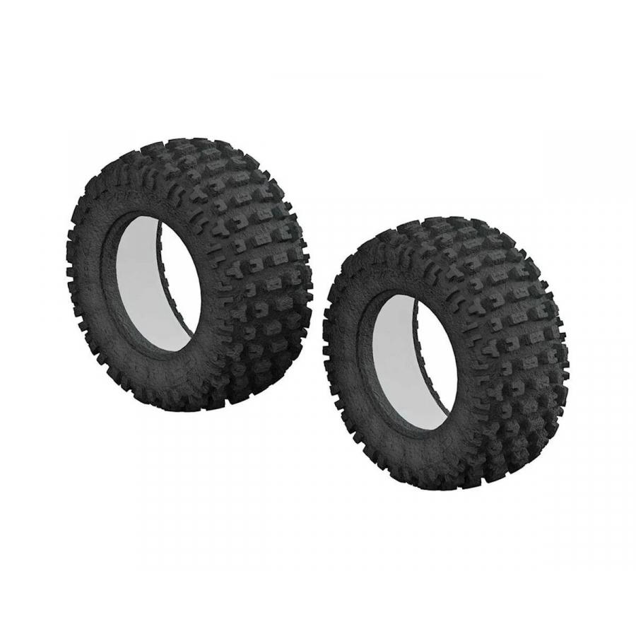 Arrma dBoots Fortress SC Tire & Foam Insert (2) (3.0/2.2) (ARAC9431)