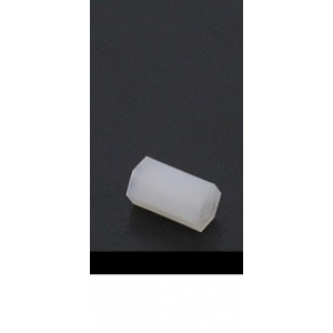 5.6mm x 10mm M3 Nylon Tapped Spacer
