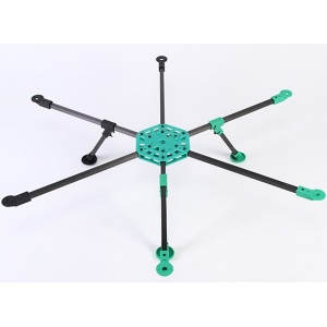 RotorBits HexCopter Kit With Modular Assembly System (KIT)