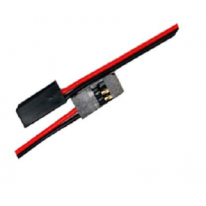 H-002 Futaba male battery wire 22AWG L=20cm