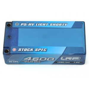LRP Light Stock Spec Shorty P5-HV Graphene 2S LiPo 60C Battery (7.6V/4600mAh)