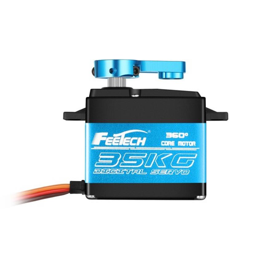FeeTech 7.4V 35kg Metal Gear 360 degree Magnetic Coded Digital Servo FT6335M