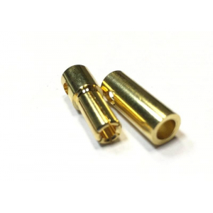 M5.5 Golden Plated Spring Connector