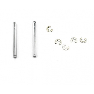 Traxxas Suspension King Pins w/ E-Clips (2)