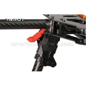 Tarot 685PRO folding tripod base / red TL68B23