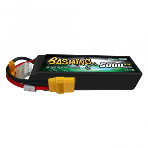 Gens ace 5000mAh 14.8V 4S1P 50C Lipo Battery Pack akumuliatorius automodeliui su XT90 Plug-Bashing Series