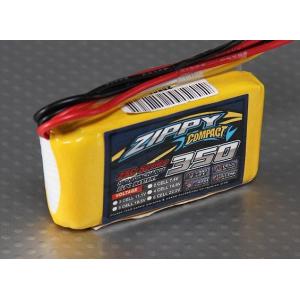 ZIPPY Compact 350mAh 3S 25C Lipo Pack