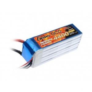 Gens ace 4400mAh 22.2V 45C 6S1P Lipo Battery Pack for Goblin 500