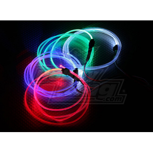 Fiber-Optic Lights for night flying (Red)