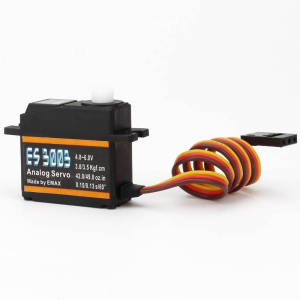 EMAX ES3003 17g 3.5kg 0.13sec 23T Plastic Gear Analog Servo For RC Airplane
