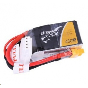 Tattu 450mAh 3S1P 75C 11.1V Lipo Battery Pack