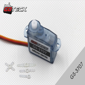 GOTECK GS-3707 0.5/0.7 kg-cm plastic gear Mini Micro Analog Servo for for Trex Heli Rc Car Truck