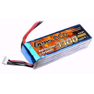 Gens ace 3300mAh 14.8V 25C 4S1P Lipo Battery akumuliatorius