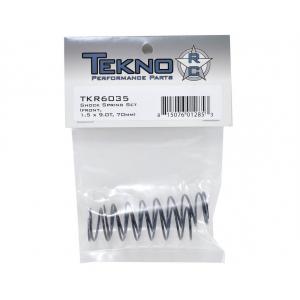Tekno RC 70mm Front Shock Spring Set (Pink) (1.5 x 9.0T) (2) TKR6035
